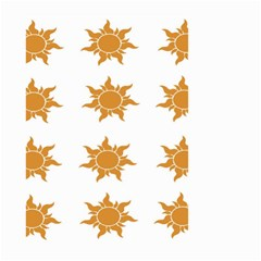 Sun Cupcake Toppers Sunlight Small Garden Flag (two Sides)