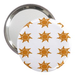 Sun Cupcake Toppers Sunlight 3  Handbag Mirrors