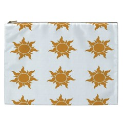 Sun Cupcake Toppers Sunlight Cosmetic Bag (xxl)  by Alisyart