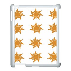 Sun Cupcake Toppers Sunlight Apple Ipad 3/4 Case (white)