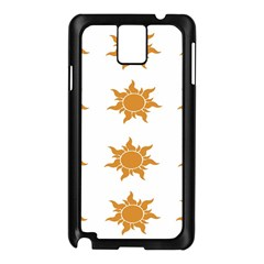 Sun Cupcake Toppers Sunlight Samsung Galaxy Note 3 N9005 Case (black)