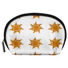 Sun Cupcake Toppers Sunlight Accessory Pouches (large)  by Alisyart