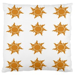 Sun Cupcake Toppers Sunlight Standard Flano Cushion Case (one Side) by Alisyart