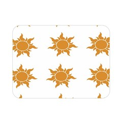 Sun Cupcake Toppers Sunlight Double Sided Flano Blanket (mini)  by Alisyart