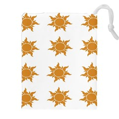 Sun Cupcake Toppers Sunlight Drawstring Pouches (xxl)