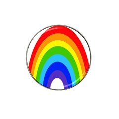 Rainbow Hat Clip Ball Marker (4 Pack) by Alisyart