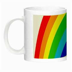 Rainbow Night Luminous Mugs by Alisyart