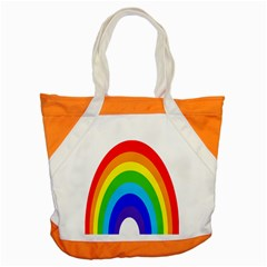 Rainbow Accent Tote Bag by Alisyart