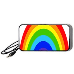 Rainbow Portable Speaker (black) by Alisyart