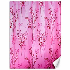 Pink Curtains Background Canvas 36  X 48