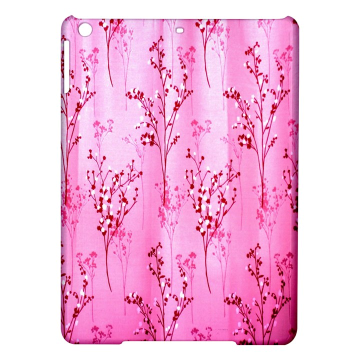 Pink Curtains Background iPad Air Hardshell Cases