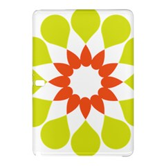 Tikiwiki Abstract Element Flower Star Red Green Samsung Galaxy Tab Pro 10 1 Hardshell Case by Alisyart