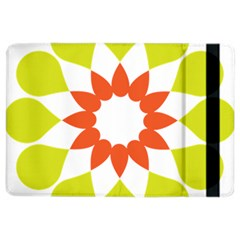 Tikiwiki Abstract Element Flower Star Red Green Ipad Air 2 Flip by Alisyart