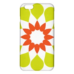 Tikiwiki Abstract Element Flower Star Red Green Iphone 6 Plus/6s Plus Tpu Case by Alisyart