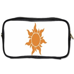 Sunlight Sun Orange Toiletries Bags 2 Side by Alisyart
