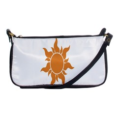 Sunlight Sun Orange Shoulder Clutch Bags