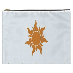 Sunlight Sun Orange Cosmetic Bag (xxxl)