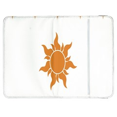 Sunlight Sun Orange Samsung Galaxy Tab 7  P1000 Flip Case by Alisyart
