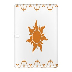 Sunlight Sun Orange Samsung Galaxy Tab Pro 12 2 Hardshell Case by Alisyart
