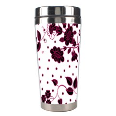 Floral Pattern Stainless Steel Travel Tumblers by Simbadda