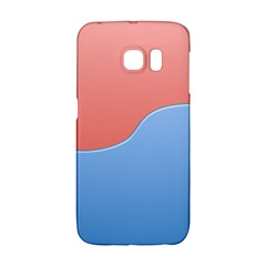 Taekwondo Sign Red Blue Galaxy S6 Edge