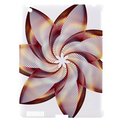 Prismatic Flower Line Gold Star Floral Apple Ipad 3/4 Hardshell Case (compatible With Smart Cover) by Alisyart
