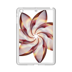 Prismatic Flower Line Gold Star Floral Ipad Mini 2 Enamel Coated Cases