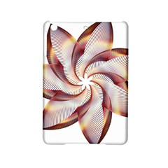 Prismatic Flower Line Gold Star Floral Ipad Mini 2 Hardshell Cases by Alisyart