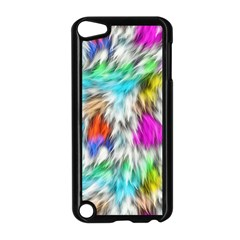 Fur Fabric Apple Ipod Touch 5 Case (black) by Simbadda