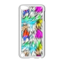 Fur Fabric Apple Ipod Touch 5 Case (white) by Simbadda