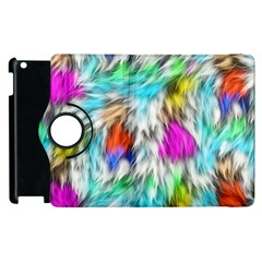 Fur Fabric Apple Ipad 2 Flip 360 Case by Simbadda
