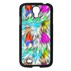 Fur Fabric Samsung Galaxy S4 I9500/ I9505 Case (black)