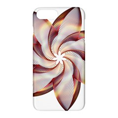 Prismatic Flower Line Gold Star Floral Apple Iphone 7 Plus Hardshell Case by Alisyart