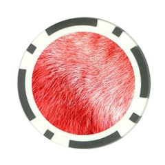 Pink Fur Background Poker Chip Card Guard (10 Pack) by Simbadda