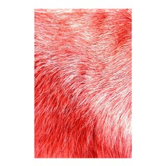 Pink Fur Background Shower Curtain 48  X 72  (small)  by Simbadda