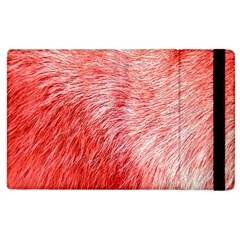 Pink Fur Background Apple Ipad 2 Flip Case