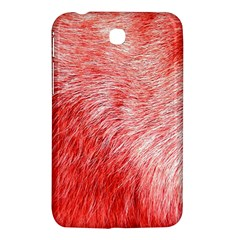 Pink Fur Background Samsung Galaxy Tab 3 (7 ) P3200 Hardshell Case