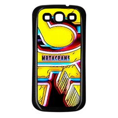 Resident Ange Samsung Galaxy S3 Back Case (black) by MRTACPANS