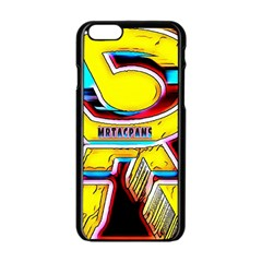 Resident Ange Apple Iphone 6/6s Black Enamel Case by MRTACPANS