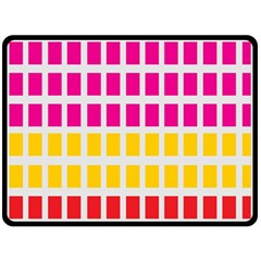 Squares Pattern Background Colorful Squares Wallpaper Fleece Blanket (large)  by Simbadda