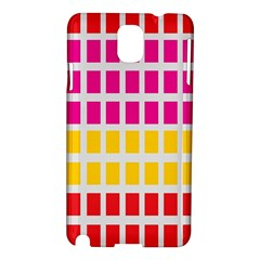 Squares Pattern Background Colorful Squares Wallpaper Samsung Galaxy Note 3 N9005 Hardshell Case