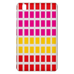 Squares Pattern Background Colorful Squares Wallpaper Samsung Galaxy Tab Pro 8 4 Hardshell Case