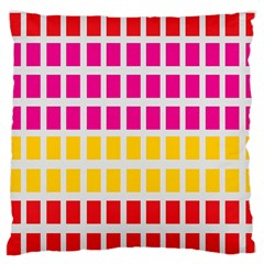 Squares Pattern Background Colorful Squares Wallpaper Standard Flano Cushion Case (one Side) by Simbadda