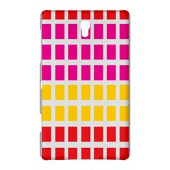 Squares Pattern Background Colorful Squares Wallpaper Samsung Galaxy Tab S (8 4 ) Hardshell Case