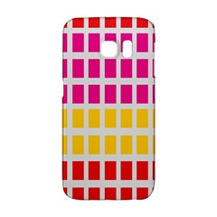 Squares Pattern Background Colorful Squares Wallpaper Galaxy S6 Edge by Simbadda