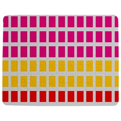 Squares Pattern Background Colorful Squares Wallpaper Jigsaw Puzzle Photo Stand (rectangular) by Simbadda