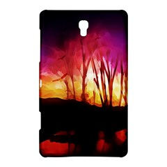 Fall Forest Background Samsung Galaxy Tab S (8 4 ) Hardshell Case  by Simbadda