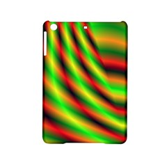Neon Color Fractal Lines Ipad Mini 2 Hardshell Cases