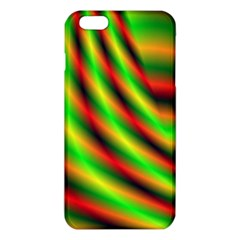 Neon Color Fractal Lines Iphone 6 Plus/6s Plus Tpu Case by Simbadda