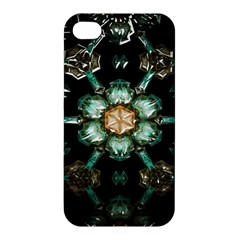 Kaleidoscope With Bits Of Colorful Translucent Glass In A Cylinder Filled With Mirrors Apple Iphone 4/4s Hardshell Case by Simbadda